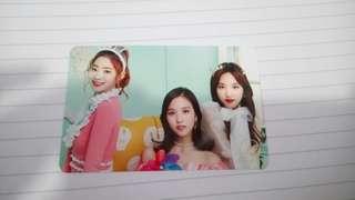 Twiceland Nayeon,Dahyun,Mina小卡