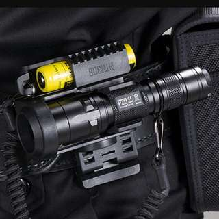(In-Stock) NITECORE P20 Precise Tactical Flashlight  - Ideal For Law Enforcement Activity