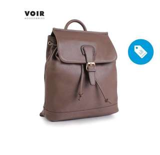 VOIR Backpack with front flap opening & buckle