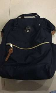 Anello dark blue backpack