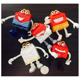 McDonalds Collectible Toy Bundle