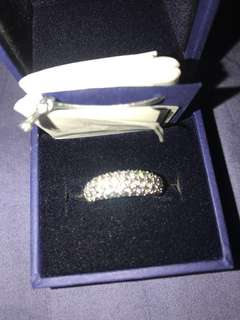 Swarovski crystal Ring new in box