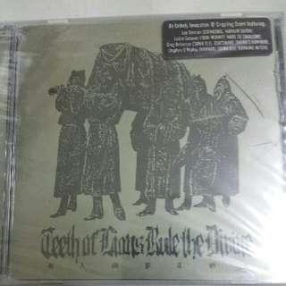 Music CD (Metal, Sealed): Teeth Of Lions Rule The Divine–Rampton