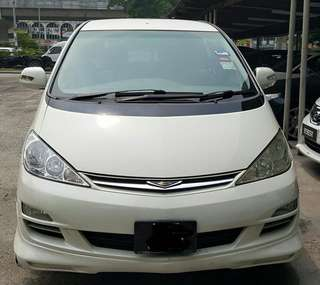 SAMBUNG BAYAR/CONTINUE LOAN  TOYOTA ESTIMA 2.4 AUTO ACR 30 YEAR 2009/2011 MONTHLY RM 1250 BALANCE 2 YEARS + ROADTAX VALID LEATHER SEAT  DP KLIK wasap.my/60133524312/acr30