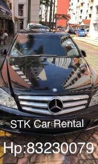 Mercedes C180 car for rent