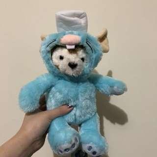 達菲 生肖鼠 料理鼠王 娃娃