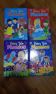Phonics fairy tale early readers