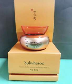 [Free eyecream!]Sulwhasoo Ginseng Cream