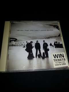 CD U2. All that you cant leave behind