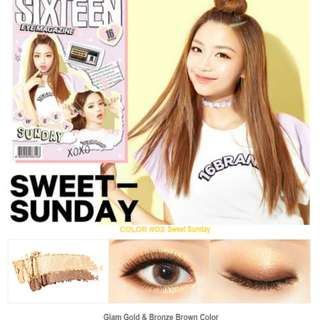 16Brand Eye Magazine No.3 #Sweet Sunday 2.5g