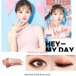 16Brand Eye Magazine No.4 #Hey My Day 2.5g