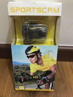 Waterproof HD sport cam