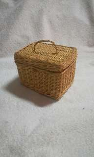 Wicker Rattan Basket