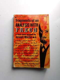 Fragments of an Analysis with Freud