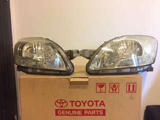Toyota Vios NCP93 front headlamp / headlights
