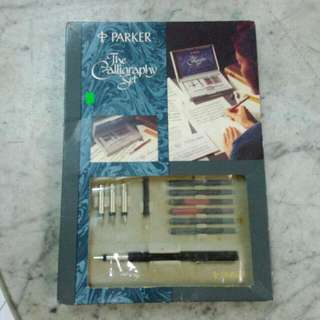 Parker The Calligraphy Set Vintage 1