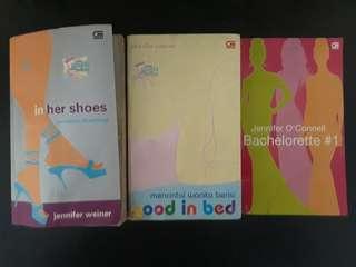 Paket Novel Chicklit Jennifer Weiner (isi 3)