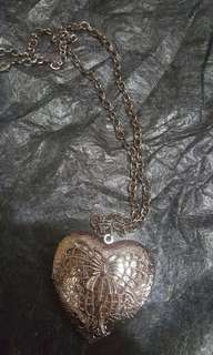 Charmed Heart Locket long chain