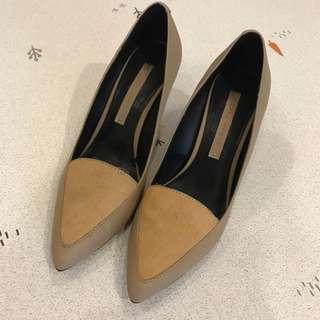 ZARA Fur Heels