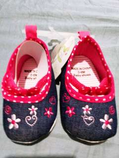 Cute Baby Girl Shoes 6 months