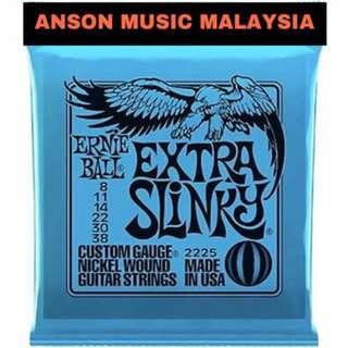 Ernie Ball 2225 Extra Slinky Nickel Wound, 8-38