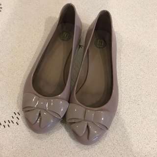 Authentic Melissa Bow Jelly Shoes