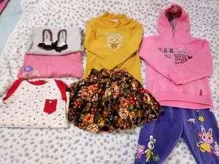 🚚 換季出清📢10件女童衣物