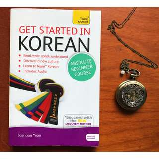 Get Started in Korean with Audio CD: A Teach Yourself Program by Jaehoon Yeon