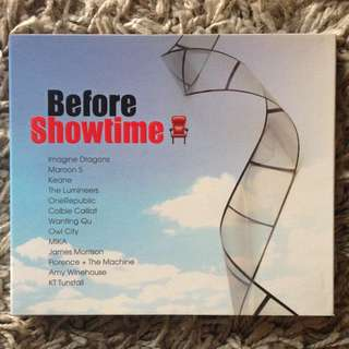 Before Showtime - Compilation CD