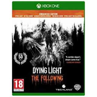 XB1 DYING LIGHT THE FOLLOWING: ENHANCED EDITION