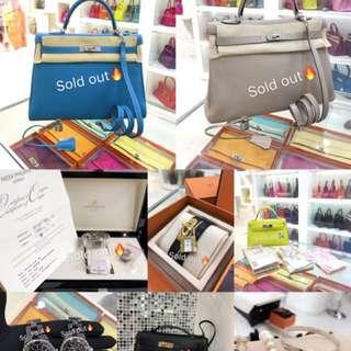 SOLD OUT✈️謝謝美女❤️  🛍設有正品奢侈品出售、回收、寄賣、代購服務🐎