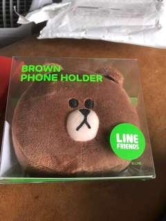 Line 熊大 phone holder