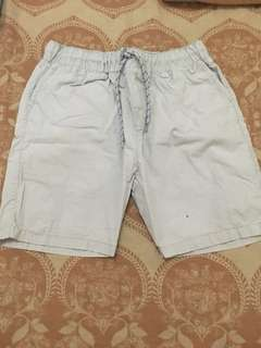 Boys Basic Shorts Light Grey