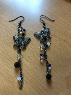 Handmade Swarovski crystal earrings
