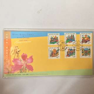 Hong Kong and Singapore stamps