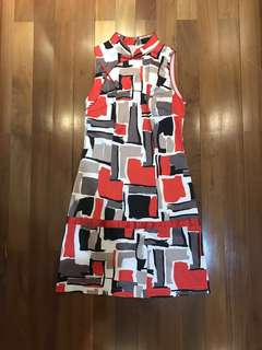Cheongsam Red Dress