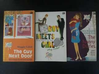 Paket Novel Chicklit Meg Cabot (isi 3)