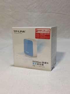 🚚 w~TP-Link TL-WR702N 150Mbps 無線N迷你路由器TP LINK 歡迎議價