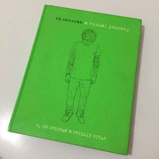 Buku Biografi Ed Sheeran - A Visual Journey