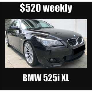 BMW 525i 2.5A Long Term Car Rental
