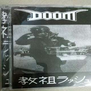 Music CD: Doom –教祖ラッシュ- U.K. Hardcore, Grindcore