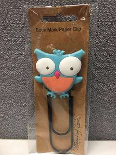Bookmark pin big size book mark butterfly owl #fashsale