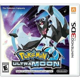 3DS Pokemon Ultramoon