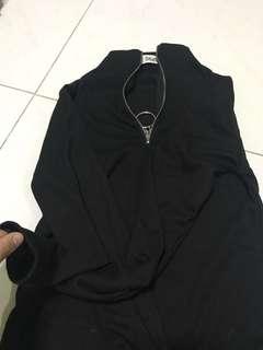 Ulzzang black long sleeves