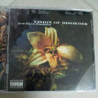 Music CD: Vision Of Disorder ‎– From Bliss To Devastation - Metal, Hardcore