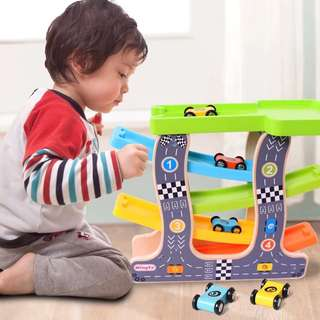 Little Wooden Toy Cars Set 5R2