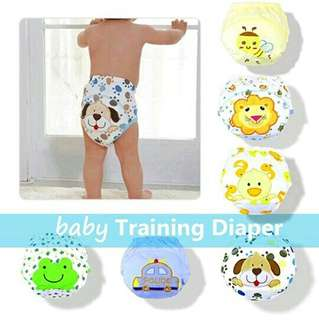 TRAINING BABY DIAPER