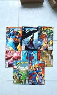 DC Comics New 52 Superman 32-39 Complete 8 issue Story Arc Geoff Johns John Romita Jr Art First Appearance Mr Oz