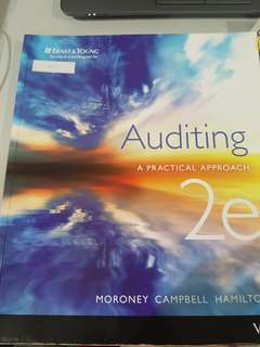 Auditing: a practical approach 2e