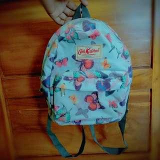 Cath Kidston Mini Backpack Sweet Blue Flower Butterfly